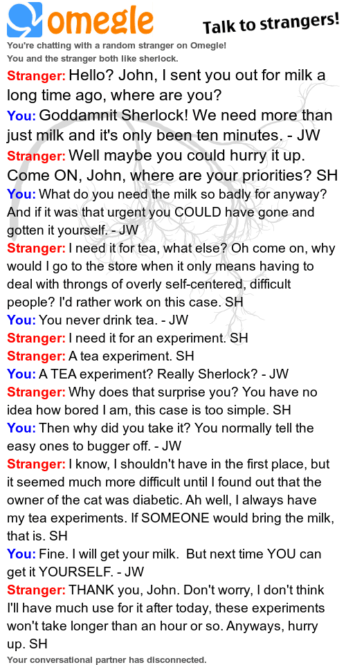 Omegle rp