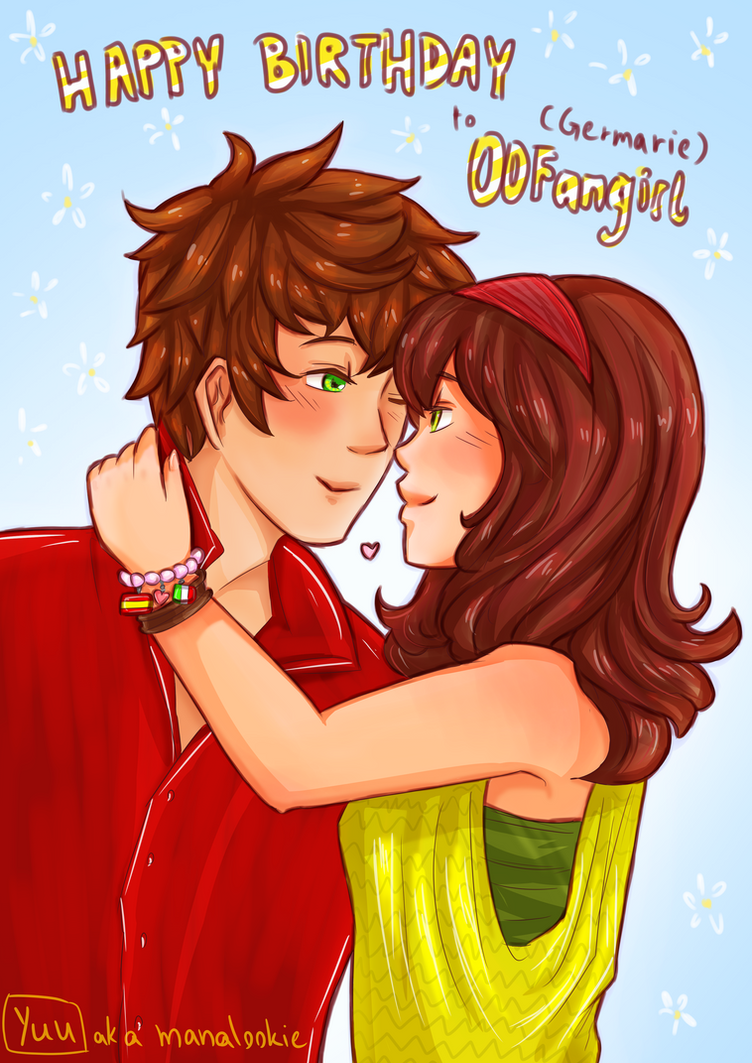 For Germarie: Happy Birthday (Spainxfem!Romano) by ManaLookie