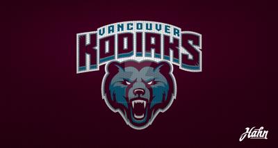 Vancouver Kodiaks Logo Concept by designsbyhahn