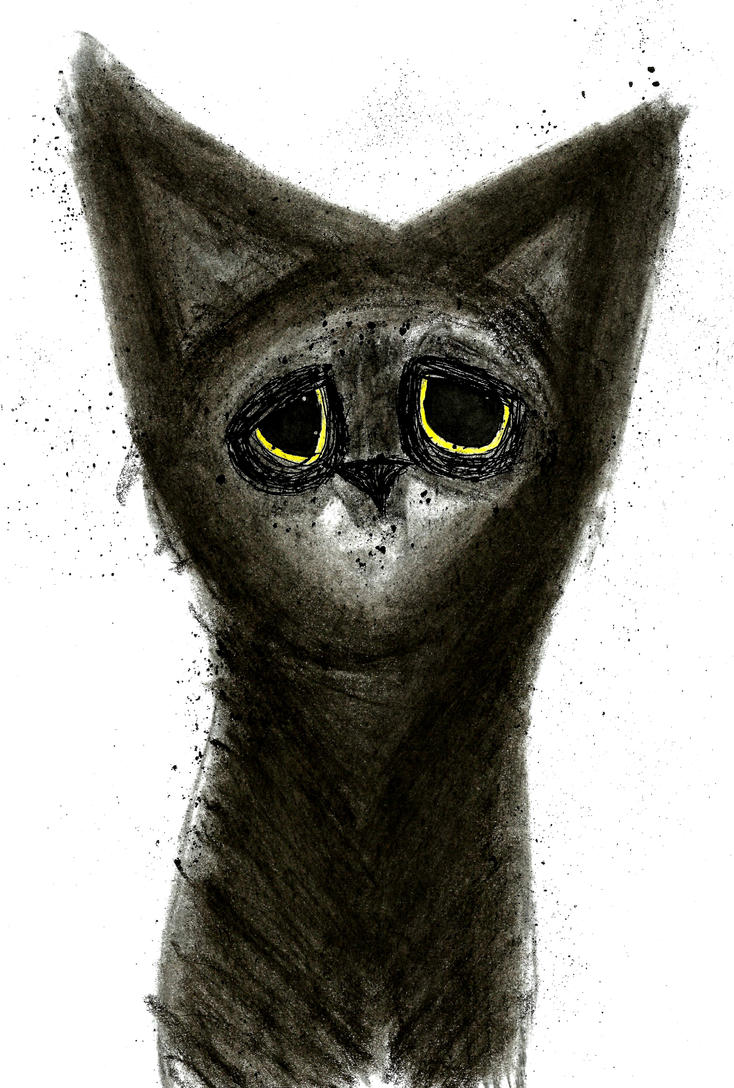 Coal cat by Unhappy893