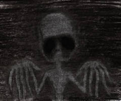 Why am I always see this guy in the dark?