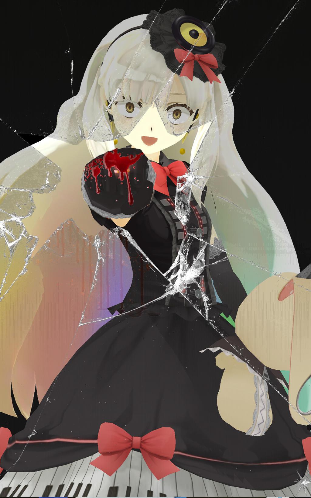 3d mmd android yukari no sound subtitulos - 1 3