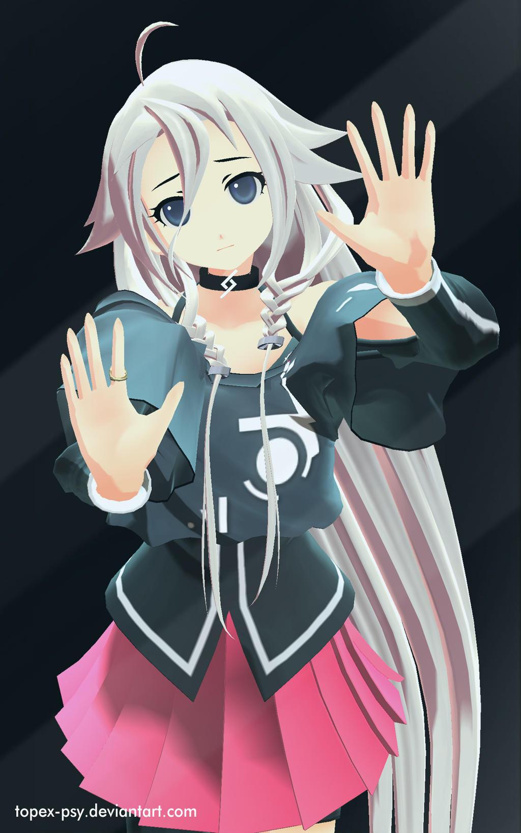 3d mmd android yukari no sound subtitulos - 1 2