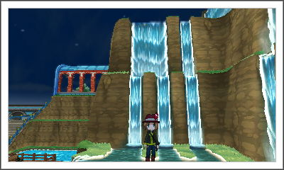 Pokemon X Waterfall by Taqresu650