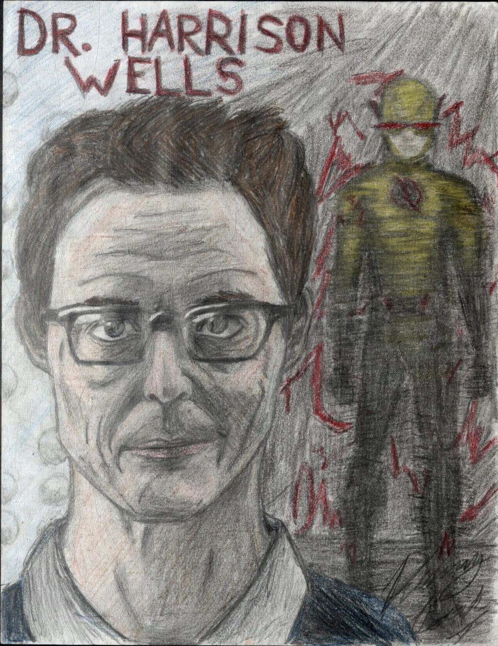 Dr. Harrison Wells by Taqresu650