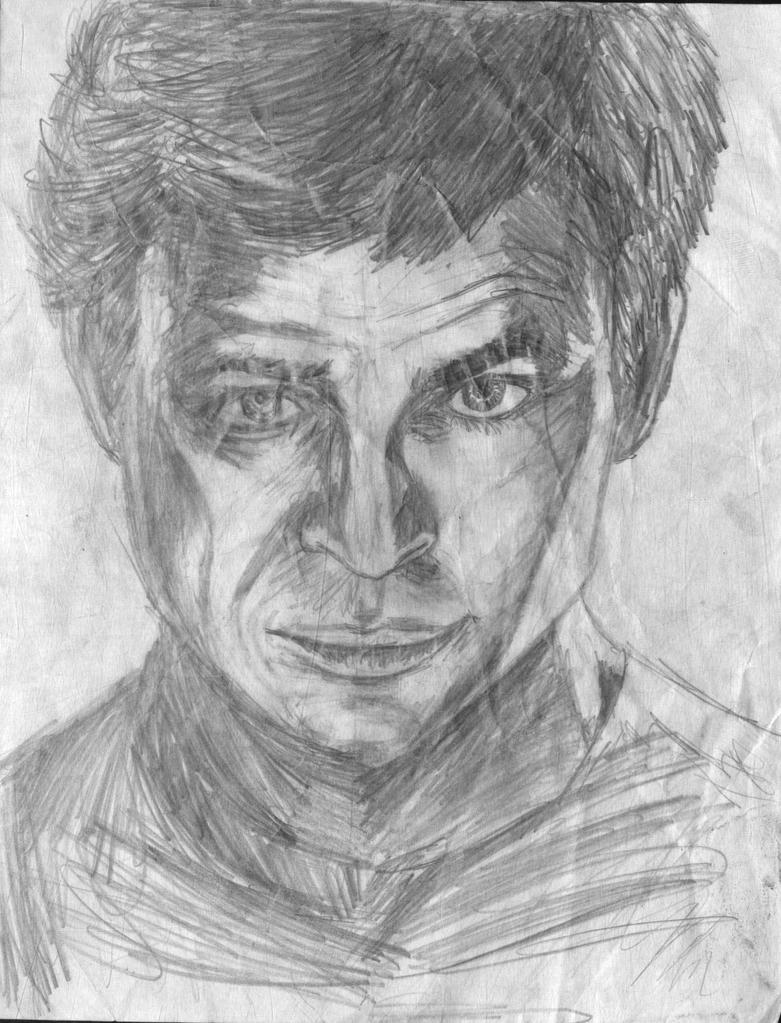 Captain Kirk Merge Portrait by Taqresu650