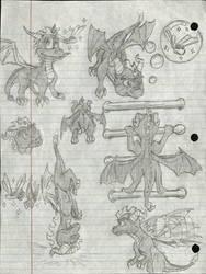 Spyro The Dragon Fan Art #2 by Taqresu650