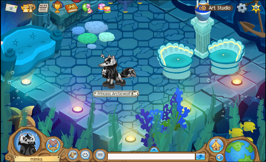 WOW i AM arctic wolf on atlantic party!? by Rainbow-Tigris ...