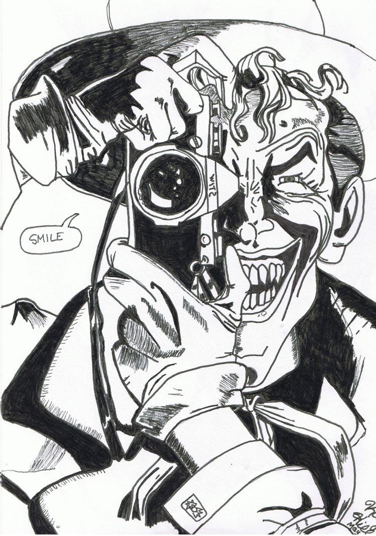 The Joker Line Art : Joker line art by lestatamour on deviantart