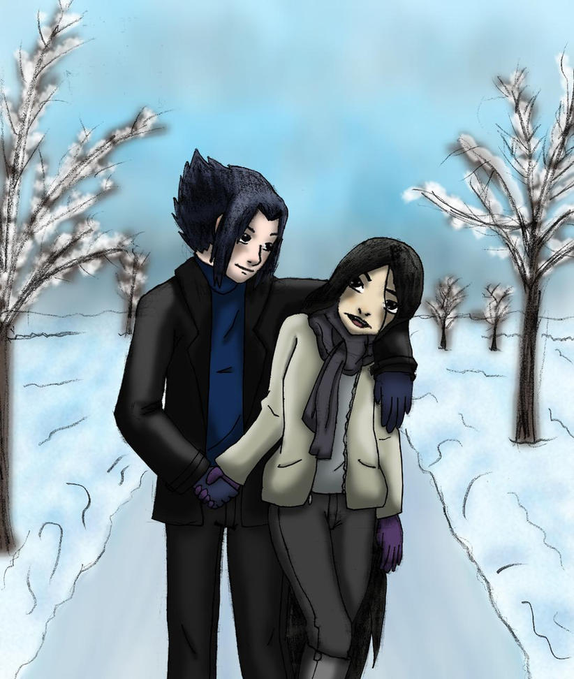 SasuKin: I'll keep u warm by Lioness-gargress