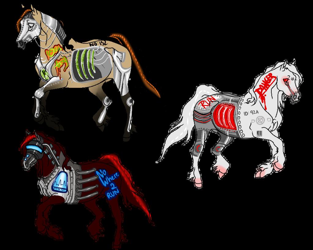 Deviantarts Robot Horse: Arga-mux's DeviantArt Gallery