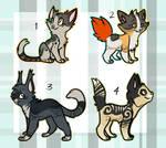 Kitten adoptables 3   OTA   CLOSED