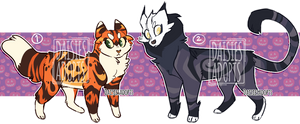 Halloween adoptables | Auction | CLOSED by DaisiesAdopts