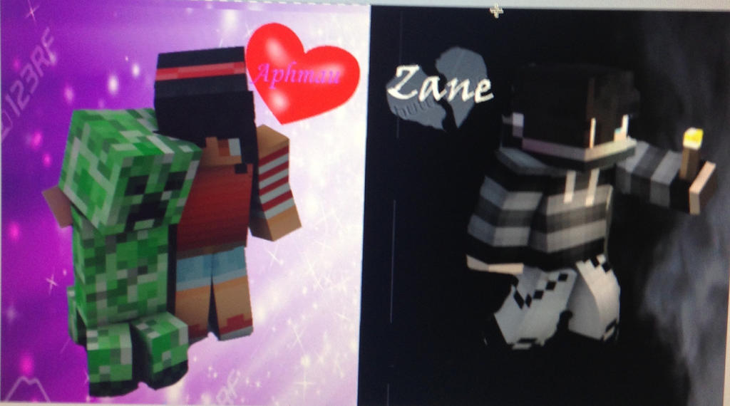 Edit with Zane and Aphmau by NinjagoUndertale
