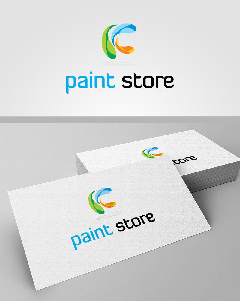 paint store logopascreative on deviantart