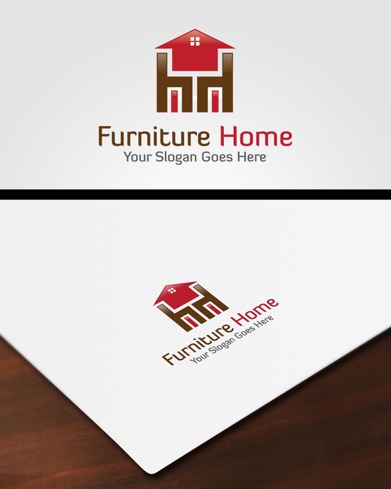 Home Furniture Logo by pascreative on DeviantArt