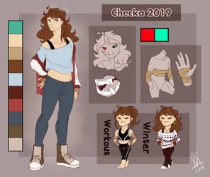 Persona Ref 2019 by MsCheckaArtz
