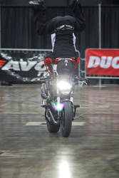 Ducati Headstand by Likwidflux