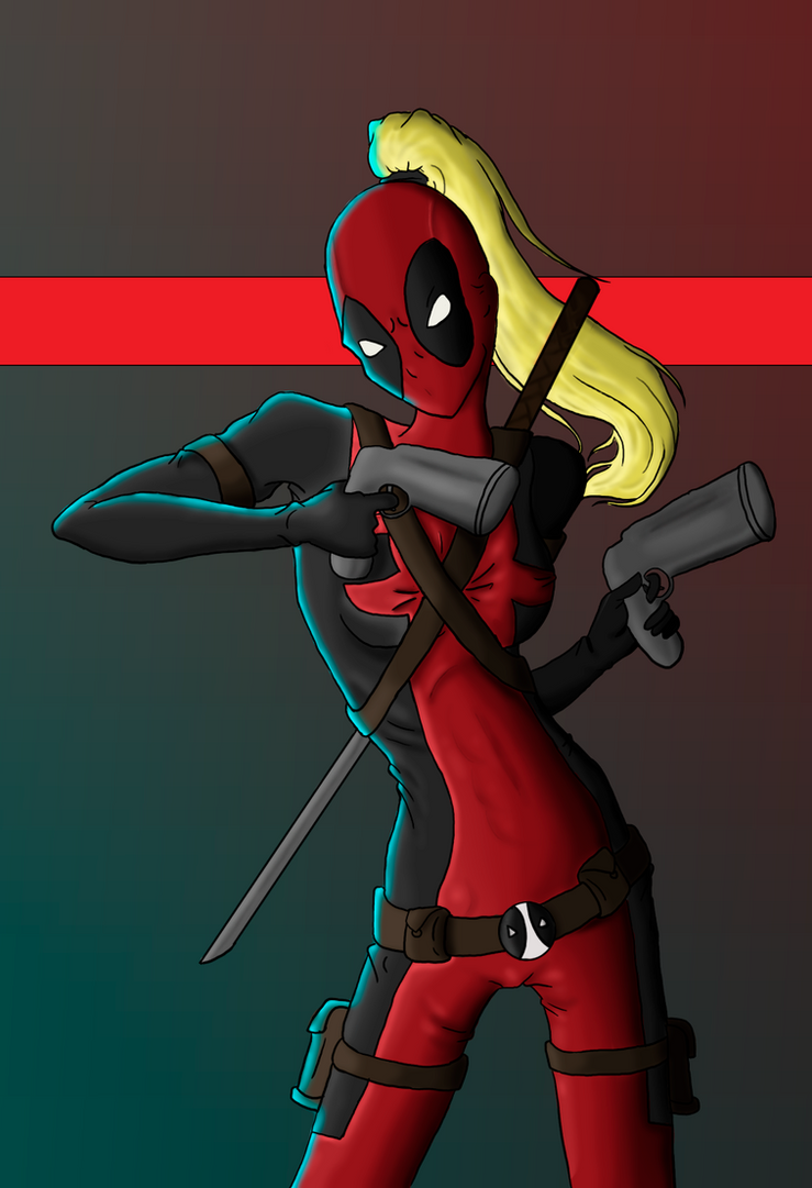 Remarkable, deadpool with girls messages