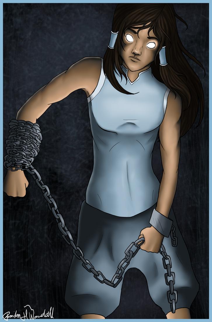Avatar Korra by AnnikaWandall
