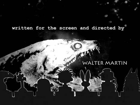 Walter Martin in black and white