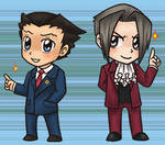 Ace Attorney Charms
