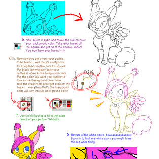 Microsoft Paint Tutorial by yuliya