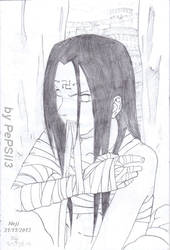 Neji with a model by PePSii-3