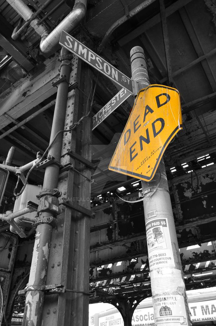 NY Dead End by MetalOzaru