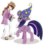 It's a pony, that it is