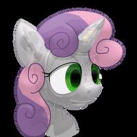 Sweetie-Bot portrait(static) by Oddwarg