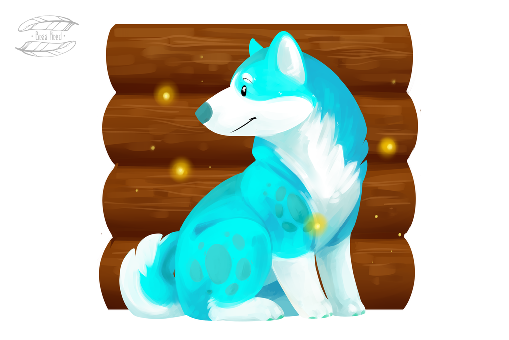 Husky by BessReed
