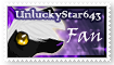 UnluckyStar643 Fan stamp by Searii