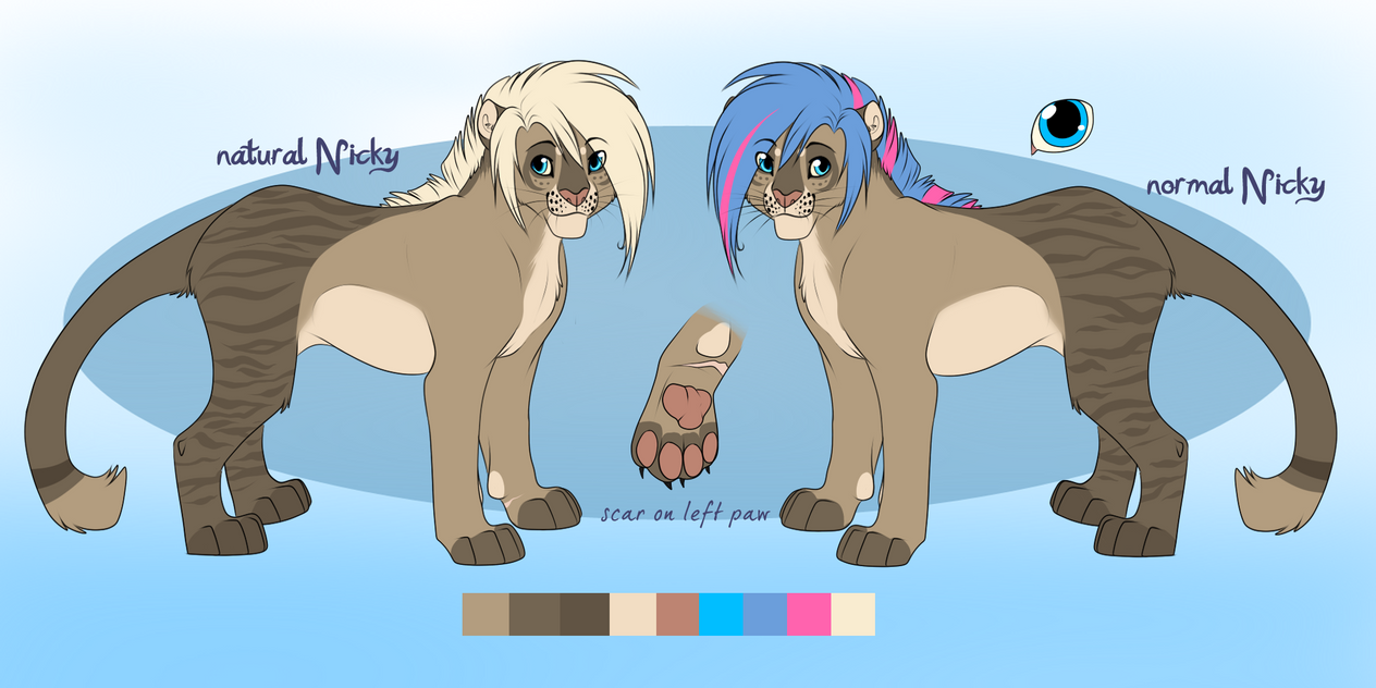 new Nicky Reference sheet by Searii