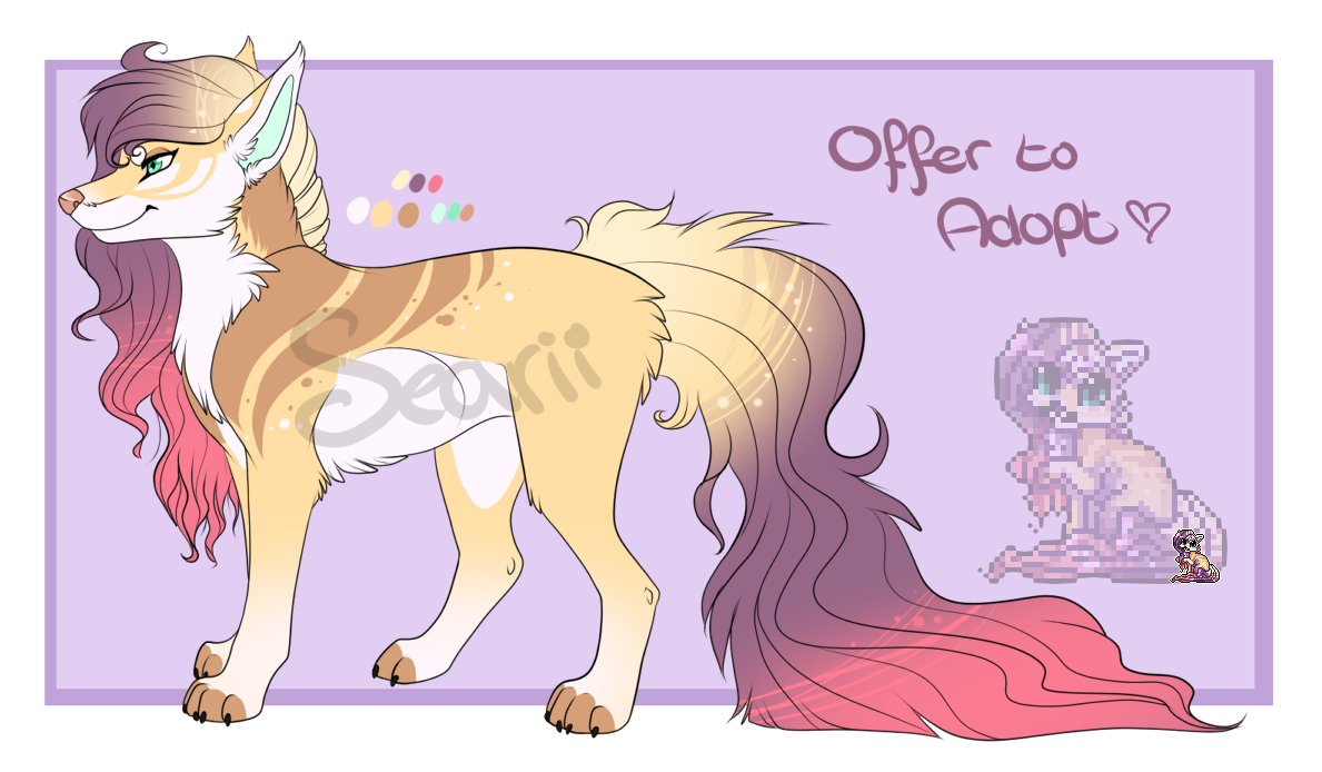 Adoptable, Offer to adopt, WITH ICON! by Searii