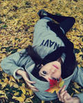 Fallen leaves version 2 by Auudrey407