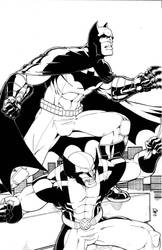 Wolverine, and Batman by holierthancow