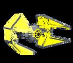 Yellow TIE Interceptor