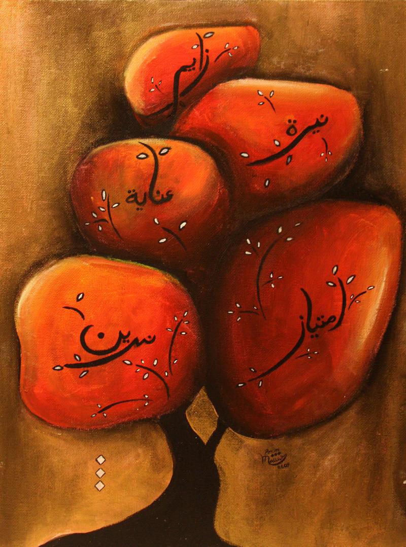 Zaman Family Tree by whisperedpeace