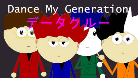 The Data Crew Dance My Generation Teaser Poster
