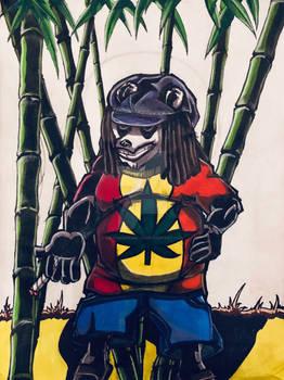 Rasta Panda v2 (80% finished)