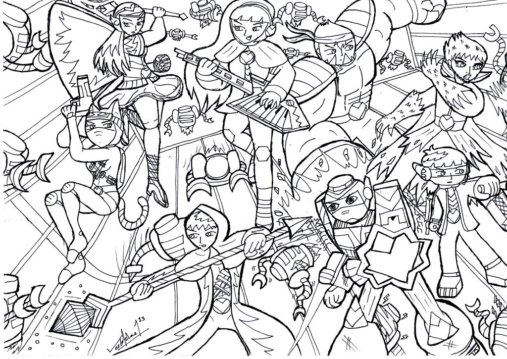 Minecraft coloring pages skydoesminecraft mods