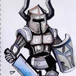 Linktober 16 Knight