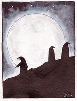 Moonlit antarctica by Kiepurapuu