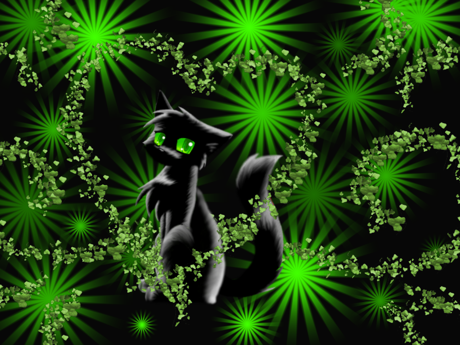 Who is your favorite cat?? - Page 3 Hollyleaf_by_Spottedfire_cat