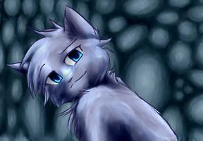 Bluestar .:rain:. by Spottedfire-cat