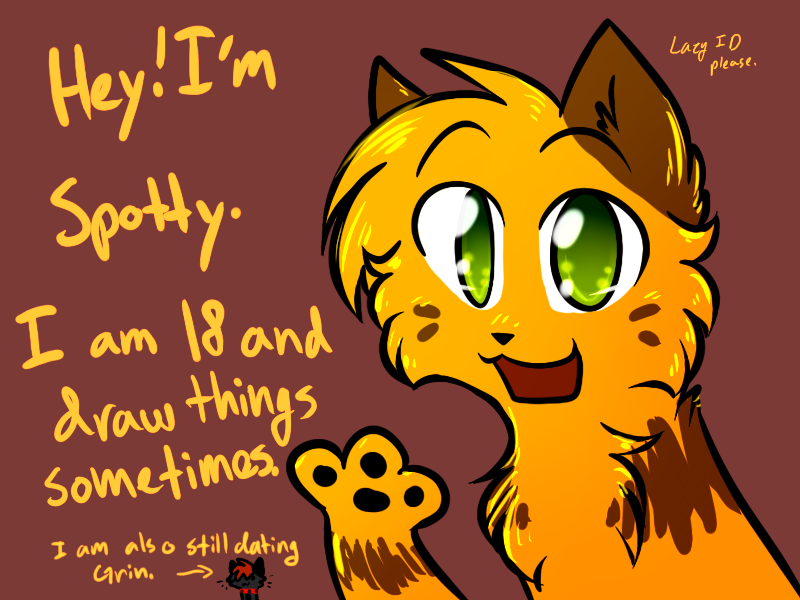 Lazy ID by Spottedfire-cat