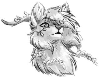 ArtFight 2017 - Spicy-Leaves by Spottedfire-cat