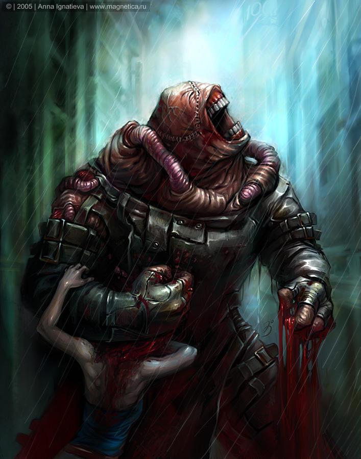 Resident Evil 3 Nemesis By Maruhana Bachi On Deviantart