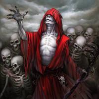 Necromancer, FFG by maruhana-bachi